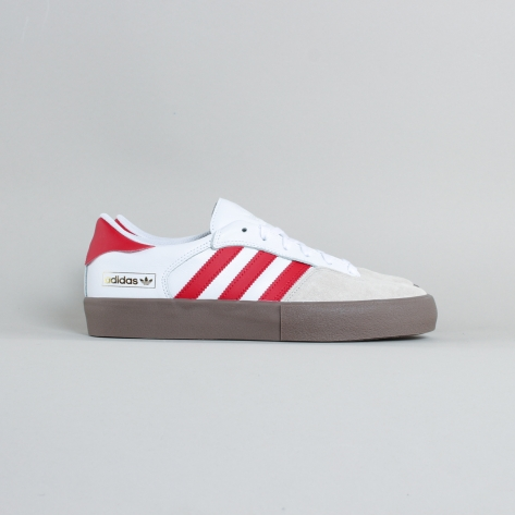Adidas – Matchbreak Super – White / Red / Gum
