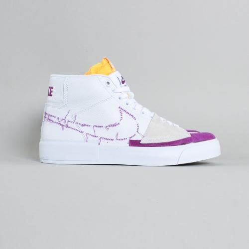 Nike – Blazer Mid Edge – White / Viotech – 100