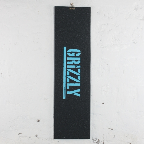 Grizzly – Stamp Print – Blue