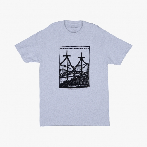 GX1000 - Church Of No Return Tee - Ash