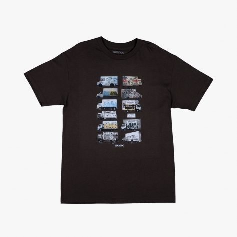 GX1000 - Box Truck Tee - Dark Chocolate