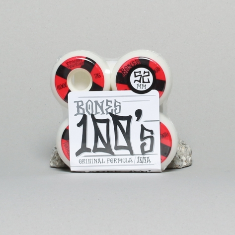 Bones – 100's Red V5 – Sidecut 52mm