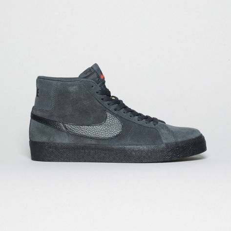 Nike – Blazer Mid Iso – Dark Smoke Grey – 001
