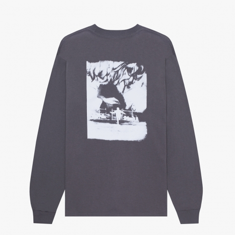 Hockey - Allens Inferno L/S Tee - Charcoal