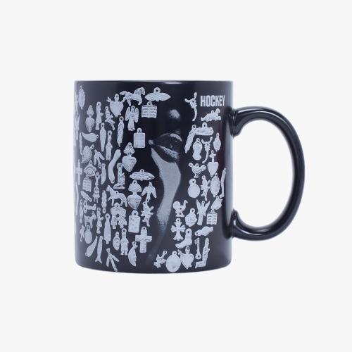Hockey - Souvenir Mug - Black / Silver Print