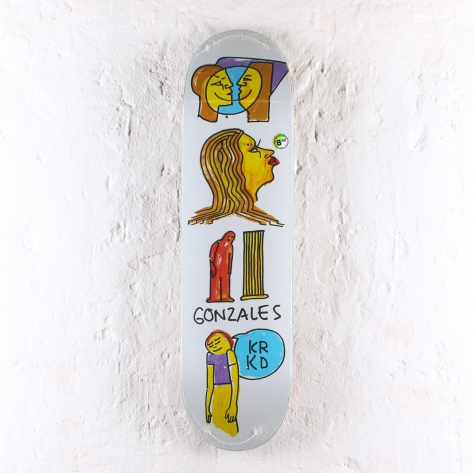 Krooked – Gonz Pillar – White