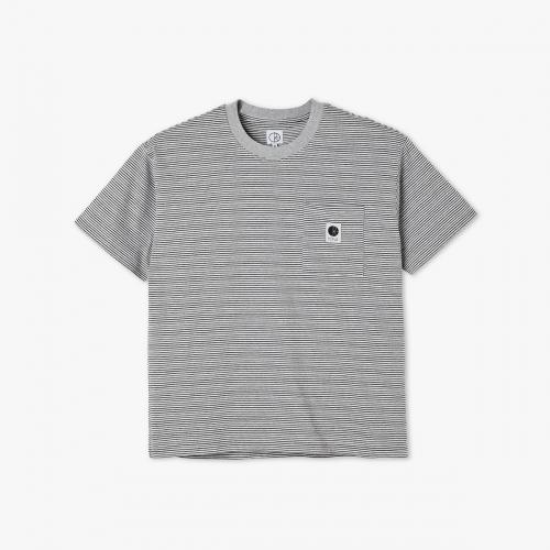 Polar - Stripe Pocket Tee - Grey