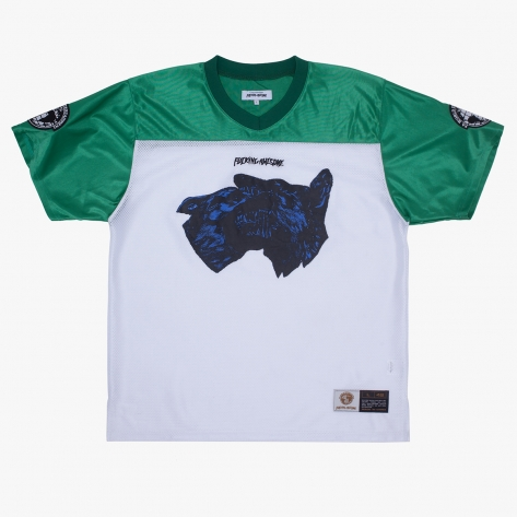 Fucking Awesome - Dogs Football Jersey - Green...