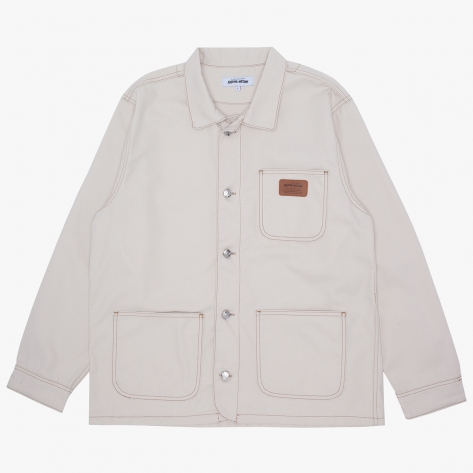 Fucking Awesome - Doctor X Chore Jacket - Natural