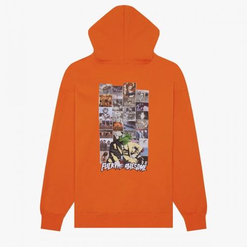 Fucking Awesome - Frogman 2 Hoodie - Orange