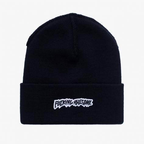 Fucking Awesome - Little Stamp Cuff Beanie - Black