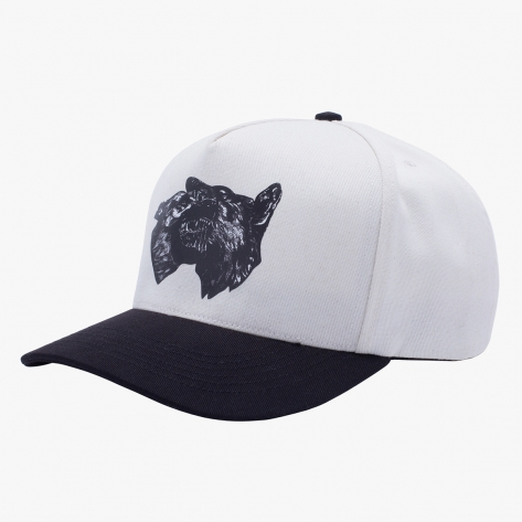 Fucking Awesome - Dogs Snapback - Natural / Black