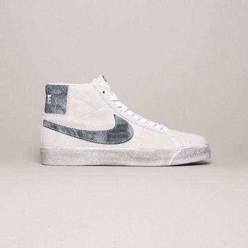 Nike – Blazer Mid Prenium – Grey Bog / Black – 002