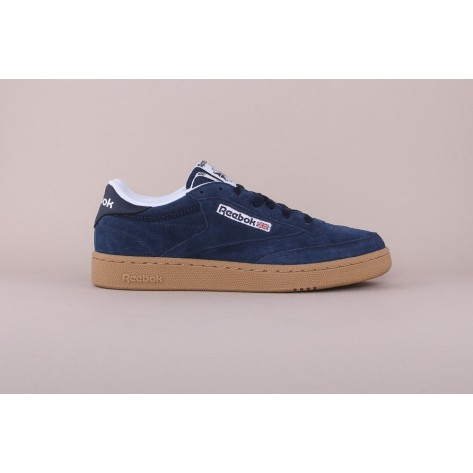 Reebok - Club C 85 – Collegiate Navy / White / Gum
