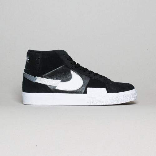 Nike – Blazer Mid Prenium – Black Wolf Grey/...