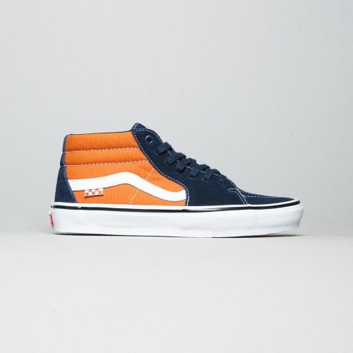 Vans – Grosso mid – Orange / Navy / White