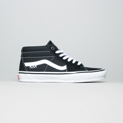 Vans – Grosso mid – Black / White