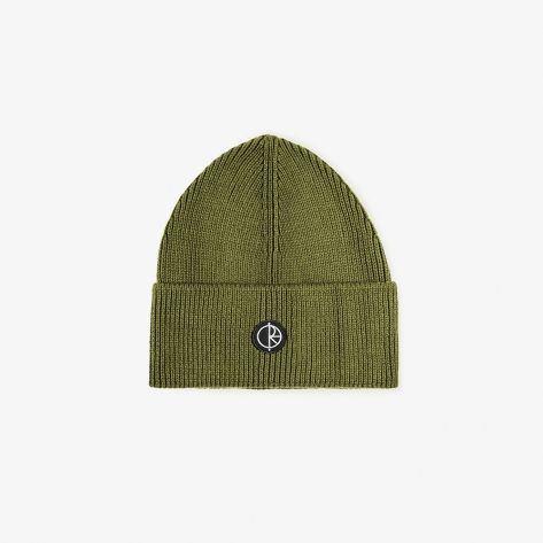 Polar - Dry Cotton Beanie - Army Green