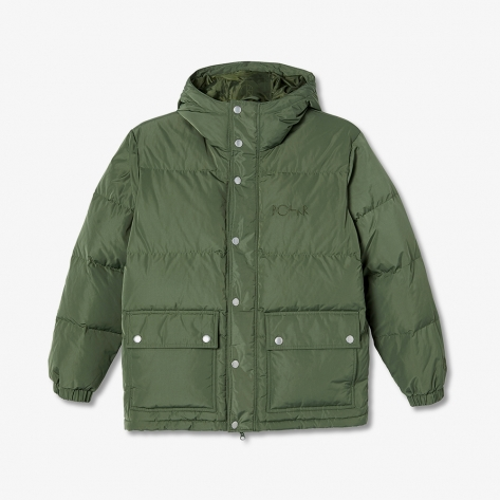 Polar - Hood Puffer - Light Olive