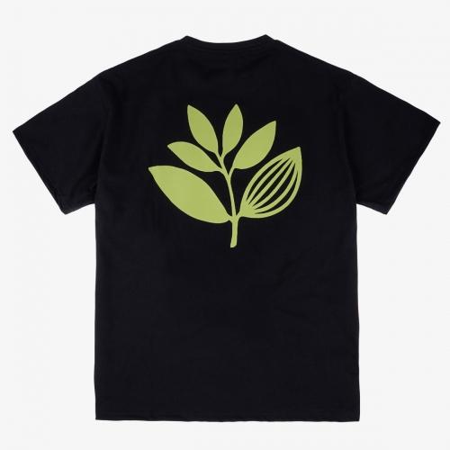 Magenta – Green Tea Tee  - Black