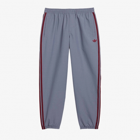 Adidas –  Track Pant – Grey / Red