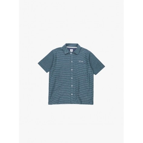 Polar - Patterened Shirt - Stripe - Navy / Green