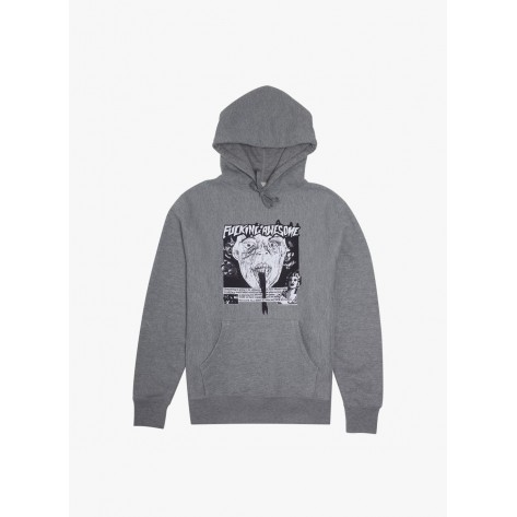 Fucking Awesome - Face Reality Hoodie - Grey