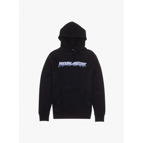 Fucking Awesome - Chrome Hoodie - Black