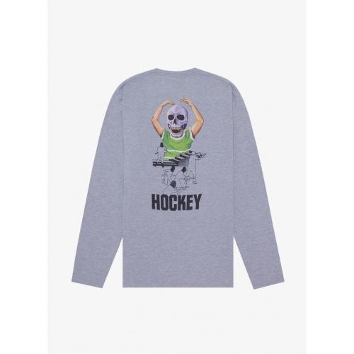 Hockey - Skull Kid L/S Tee - Athletic Heather