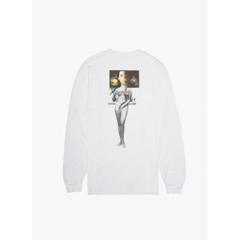 Fucking Awesome – Wizards L/S Tee - White