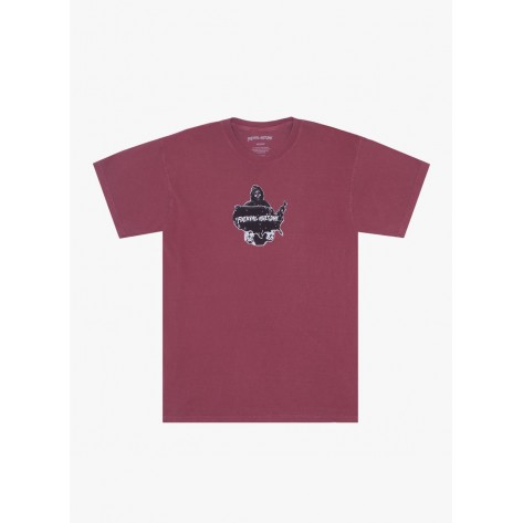 Fucking Awesome - Reaper Tee - Pigment Dyed Brick