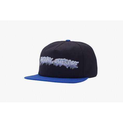 Fucking Awesome - Chrome 5-Panel Cap - Black /...