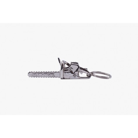 Fucking Awesome - Chainsaw Keychain - Silver