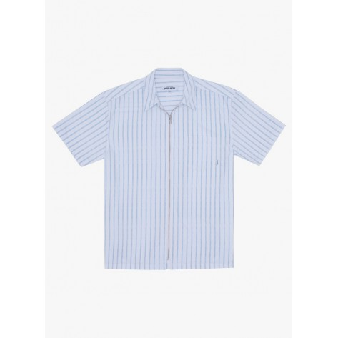 Fucking Awesome - Overspray Stripe Shirt -...