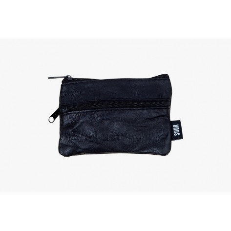 Sour - Barcy Leather Wallet – Black