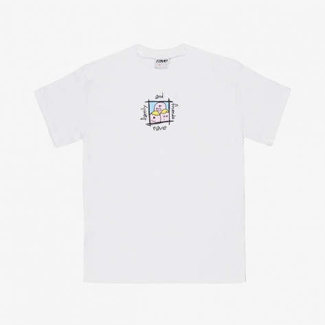 Rave – Family & Friends Tee – White