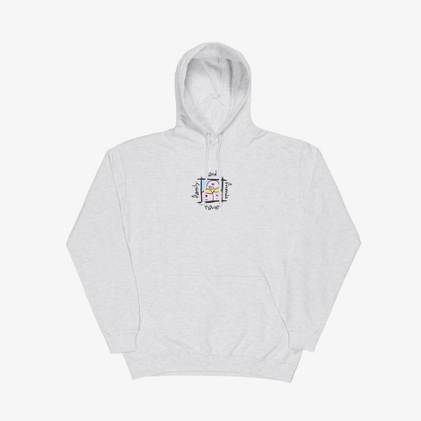 Rave – Family & Friends Hoodie – Ash Grey