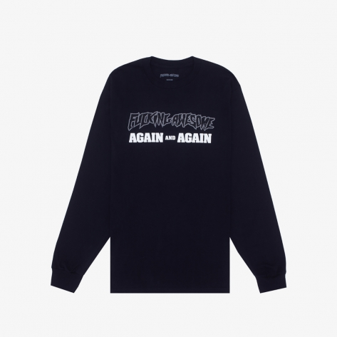 Fucking Awesome - Again And Again L/S Tee -...