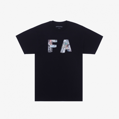 Fucking Awesome - Paper Mache Tee - Black