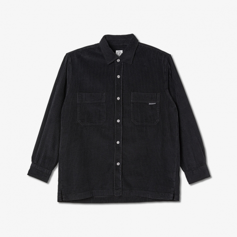 Polar - Cord Shirt - Black