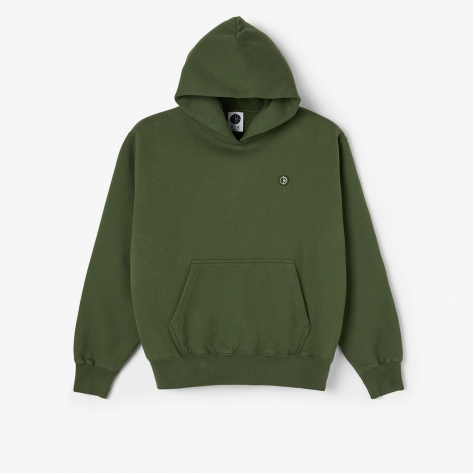 Polar - Patch Hoodie - Hunter Green
