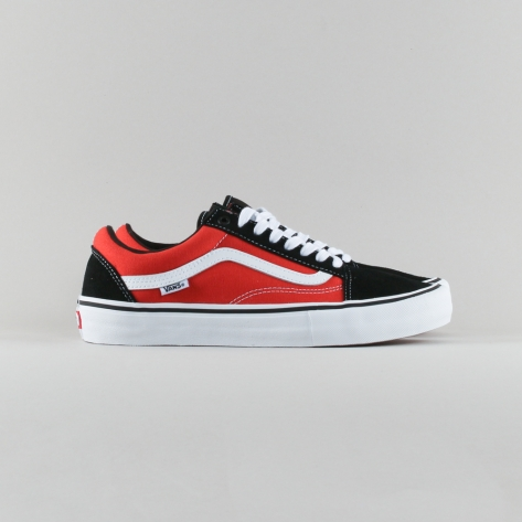 Vans – Old Skool Pro – Black / Orange