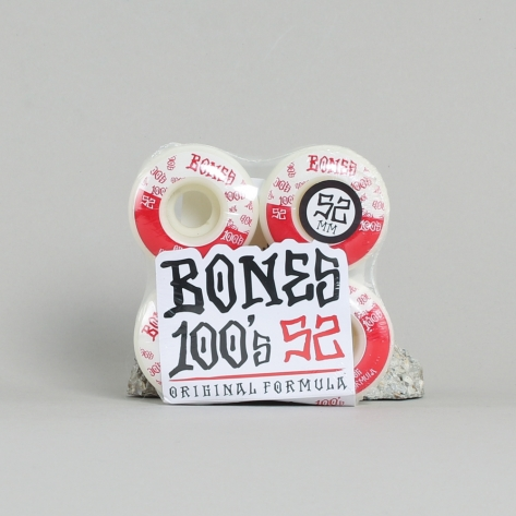 Bones - 100's II Red – 52mm V4