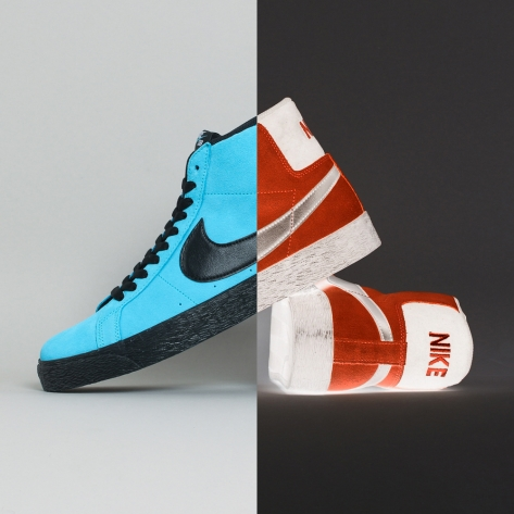 Nike – Blazer Mid Pro Inverted – Baltic Blue – 400