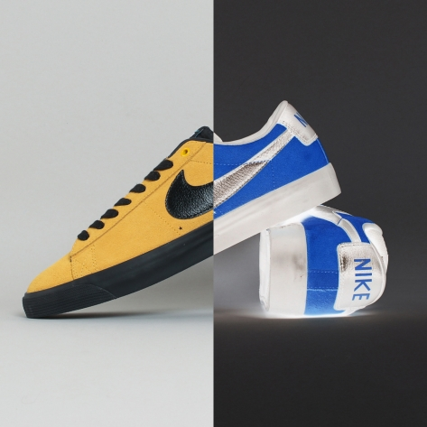 Nike – Blazer Low Pro Inverted – Gold Black – 700