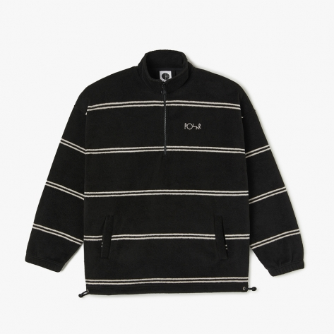 Polar - Stripe Fleece Pullover 2.0 - Black