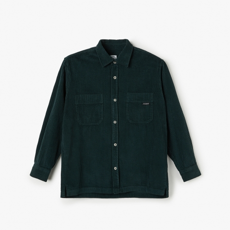 Polar - Cord Shirt  - Dark Green