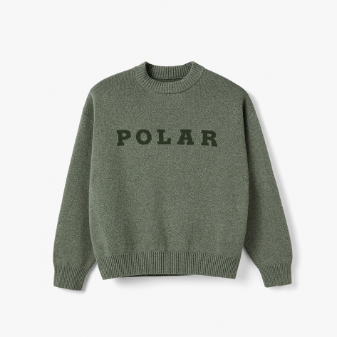 Polar - Polar Knit Sweater - Green