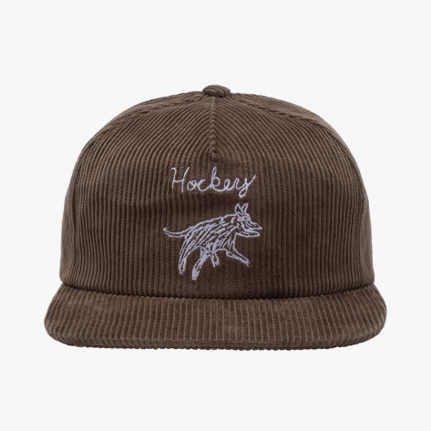 HOCKEY - Hockey Dog 6-Panel - Olive / White