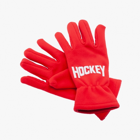 HOCKEY - Hockey Gloves - Red